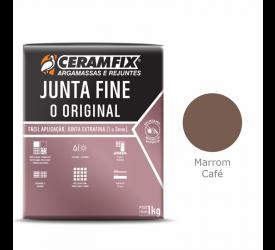 Rejunte Junta Fine Ceramfix Marrom Café 1Kg