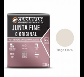 Rejunte Junta Fine Ceramfix Bege Claro 1Kg