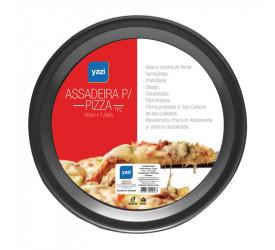 Assadeira para Pizza Yazi 30x1,5cm 13635 Yad108m