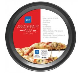 Assadeira para Pizza Yazi 35x1,5 cm 13637 Yad108g