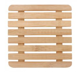 Descanso de Panela em Bambu Yazi Quadrado 18586 Ybn06