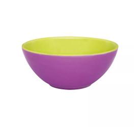 Tigela Oxford Pequena 600ml Verde e Violeta Ab37-0265