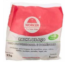 Palha de Aço Número 0 Worker - 103004