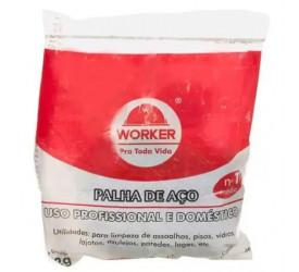 Palha de Aço Número 1 Worker - 103039
