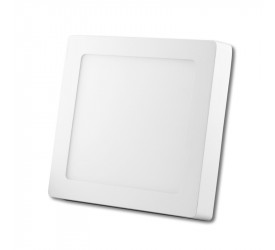 Painel Led de Sobrepor Quadrado 16x16 cm 12W 4000K Foco 0803
