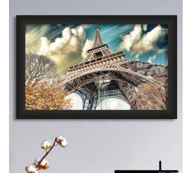 Quadro Decorativo Plasbil Médio Torre Eiffel QDM008
