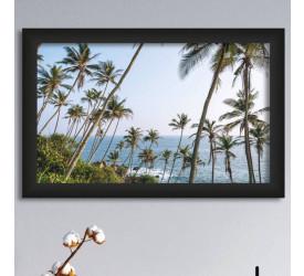 Quadro Decorativo Plasbil Médio Mirissa Sri Lanka QDM042