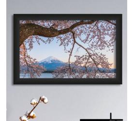 Quadro Decorativo Plasbil Médio Lago Kawaguchi QDM047