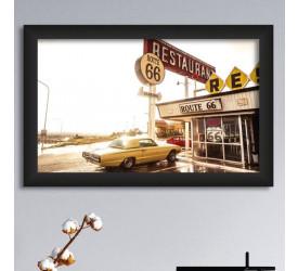 Quadro Decorativo Plasbil Médio Texas Vintage QDM013
