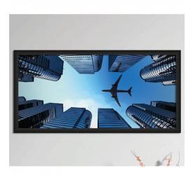 Quadro Decorativo Plasbil Grande Torre de Negócios QDG011