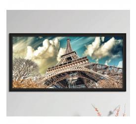 Quadro Decorativo Plasbil Grande Torre Eiffel QDG009