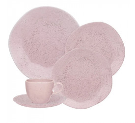 Aparelho de Jantar/Chá Oxford 30 Pçs Pink Sand RA30-9508