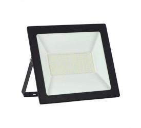 Refletor Taschibra Led Slim 100W Preto 6500K 15030043