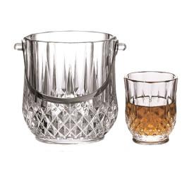 Jogo para Whisky Dynasty Vidro 7 Peças 21968