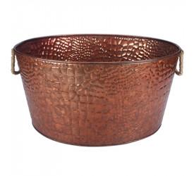 Champanheira em Ferro Galvanizado com Relevo Dynasty 23732