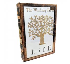 Caixa Biblioteca Livro Árvore em Mdf L'hermitage 24150