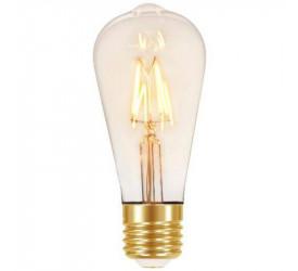 Lâmpada Filamento Led Vintage Taschibra Dimeriz St64 4W 7546