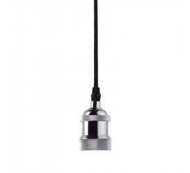 Pendente Taschibra Dot Metal Indie Cromo 40W 250V 7634