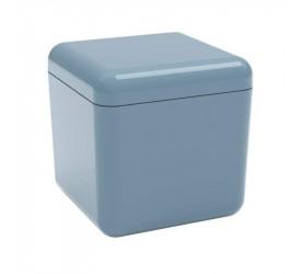 Porta Coza Algodão/Cotonete Cube Azul 208790477