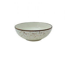Bowl em Porcelana L'hermitage Nature Cream 16,5cm 24400