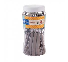 Faqueiro 24 Peças Itaparica Warm Gray Brinox 6000492