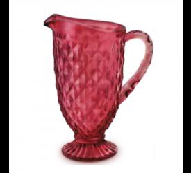 Jarra Vermelha Verre 1,2L Mimo Style Tc19088