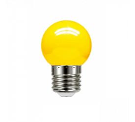 Lâmpada Led Bolinha Amarela 1W 127V Tbl 5 Taschibra 11080078