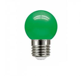 Lâmpada Led Bolinha Verde 1W 127V Tbl 5 Taschibra 11080082
