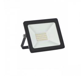 Refletor Tr Led Slim 20W 6500K Preto Taschibra 15030065-02