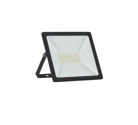 Refletor Tr Led Slim 50W 6500K Preto Taschibra 15030093-02