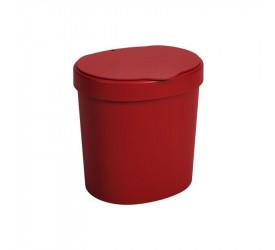 Lixeira para Pia Coza Vermelha Basic 2,5L 109060465