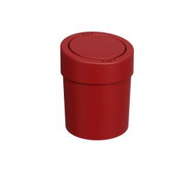 Lixeira Press 20x20x25,6 cm 5L Vermelho Coza 109080465
