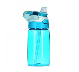 Garrafa com Alça Infantil Plus Yazi Azul 400ml 20753 Ygp14