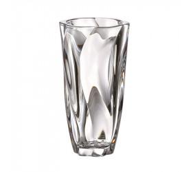 Vaso Bohemia Em Cristal Ecológico 25,5cm Barley 58324