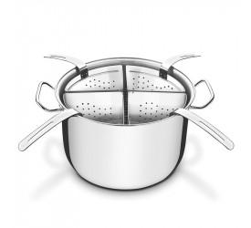 Jogo Cozi-Pasta Aço Inox 4 Recipientes Tramontina 65620411