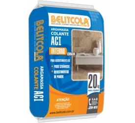 Argamassa Colante Belitcola AC-I Interna Cinza 20kg