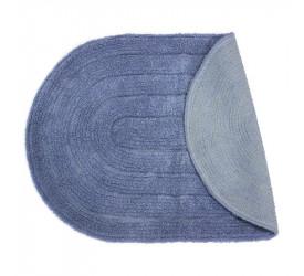Tapete Allegro Oval Azul Claro 40x60cm Kapazi
