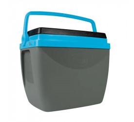 Caixa Térmica Mor 18L Cinza e Azul 25108185