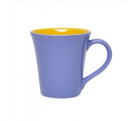 Caneca Oxford Tulipa 330ML - Amarelo/Azul Hortência A637-0114