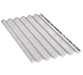 Telha de Fibrocimento Ondulada Brasilit 110x153cm 5mm