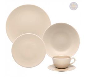 Aparelho de Jantar/Chá Oxford 30 Peças Merengue  AY30-5507