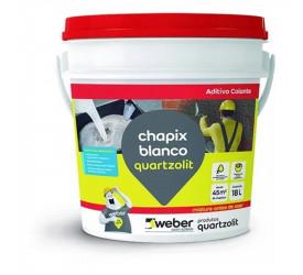 Chapix Quartzolit Blanco Balde - 18L