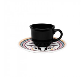 Conjunto para Café Oxford Floreal Luiza 65ml 12 Peças J590-6750