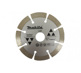Disco Diamantado para Granito Makita 105x10x20mm D-44351