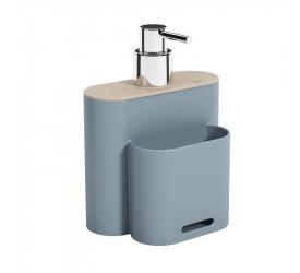 Dispenser Coza Flat 500Ml Azul 170023335
