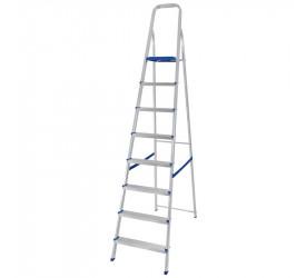 Escada de Alumínio Mor 8 Degraus 120Kg 005106