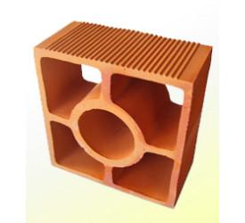 Elemento Vazado Cerâmica Angulado/Diagonal 18x18x9cm
