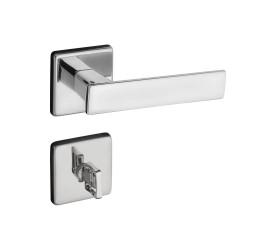 Fechadura Banheiro Pado ZM Quadra Ros 701-80B Cromado