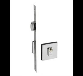 Fechadura Pado Rolete Quadrado Cromado 458-45 CR CIL55
