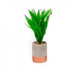 Vaso com Planta Plástica Madalozzo flr-57